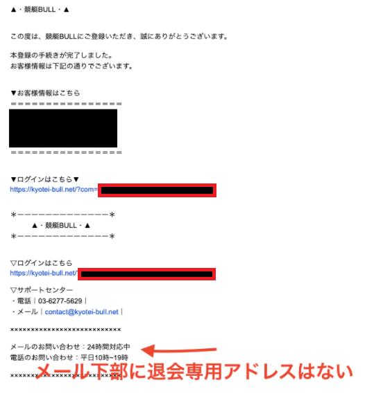 メール内容