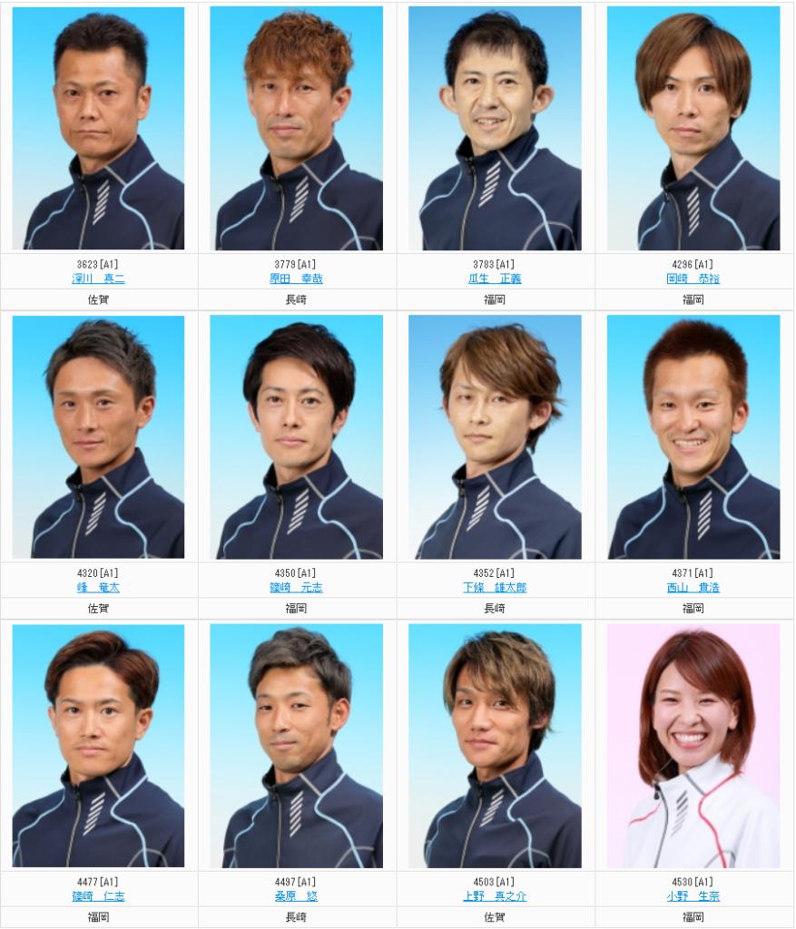 G1·九州地区選手権 ドリーム戦 出場メンバー